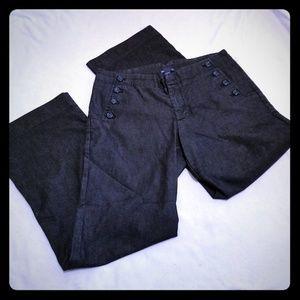 Gap black sailor jeans